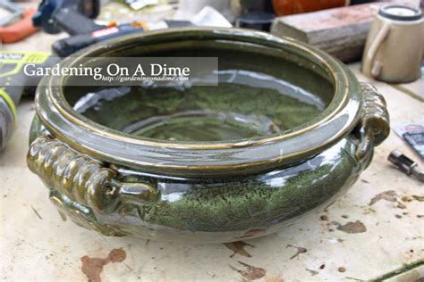 Pots Planters And More how to drill drainage holes in ceramic pots planters and more