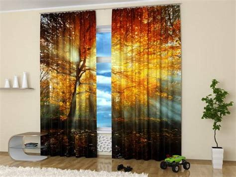 window art curtains digital printing and colorful photo curtains bringing