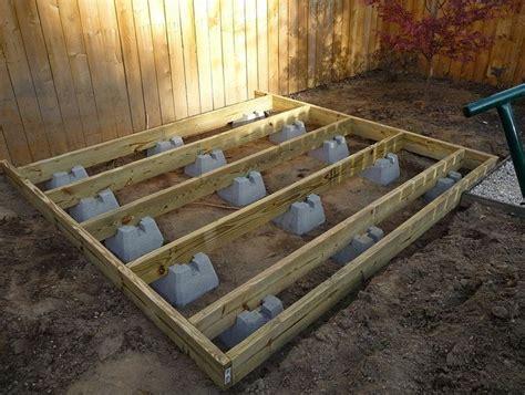 ground level deck ideas  pinterest
