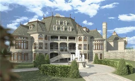 luxury bedrooms luxury chateau house plans chateau