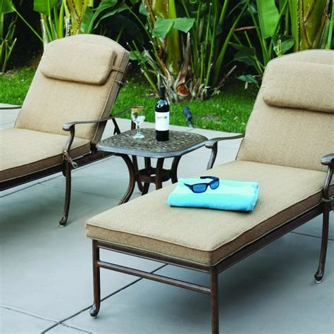 2 person chaise lounge outdoor darlee sedona 2 person cast aluminum patio chaise lounge