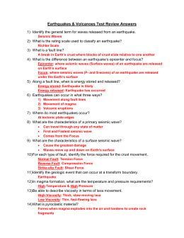 earthquake quiz questions and answers earthquake and volcano mapping conclusion questions