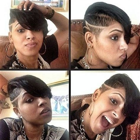 shaved sides curly weave mohawk hairstyles for black women 111 best hair hair hair and more hair images on