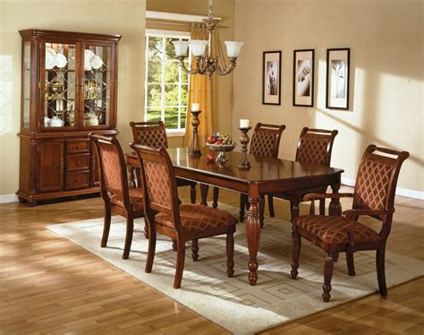 dining room traditional teak chairs and maple table as