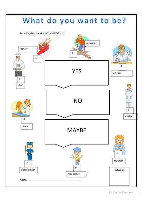 ex teachers what job do you do now netmums what do you want to be worksheet free esl printable