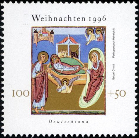 Brief Schweiz Usa Porto File St Germany 1996 Briefmarke Weihnachten Ii Jpg Wikimedia Commons