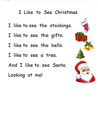 Christmas poems for kids merry christmas