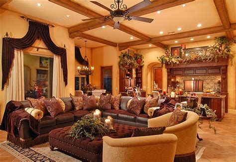 tuscan style living room world tuscan living room interior design for the living room and family room