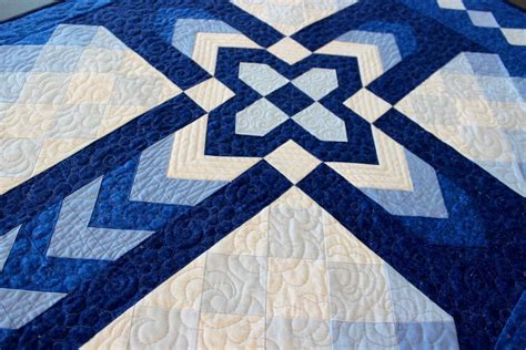 quilt pattern with cross chevron cross wall hanging 32 quot x 52 quot by judit hajdu