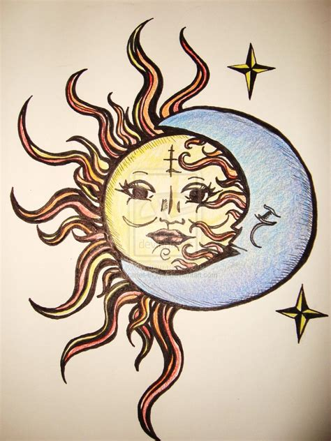 sun tattoo tumblr sun and moon drawing at getdrawings free for