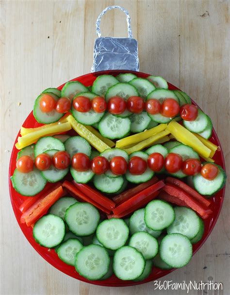 images of christmas vegetable trays 360familynutrition christmas ornament vegetable tray