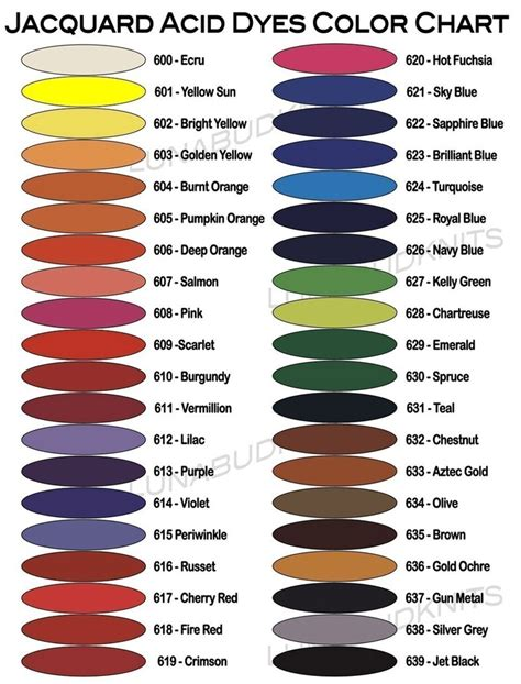 jacquard acid dye color mixing chart yahoo image search results jacquard color