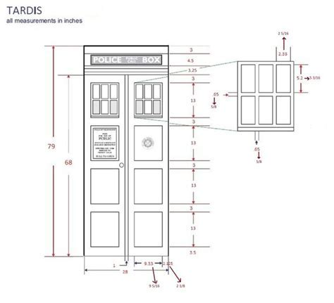 Make Your Own Tardis Door