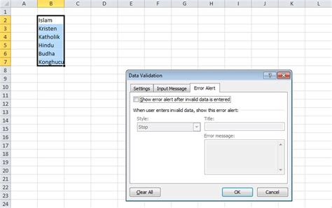 membuat tilan form di excel cara mudah membuat dropdown list di excel it jurnal com
