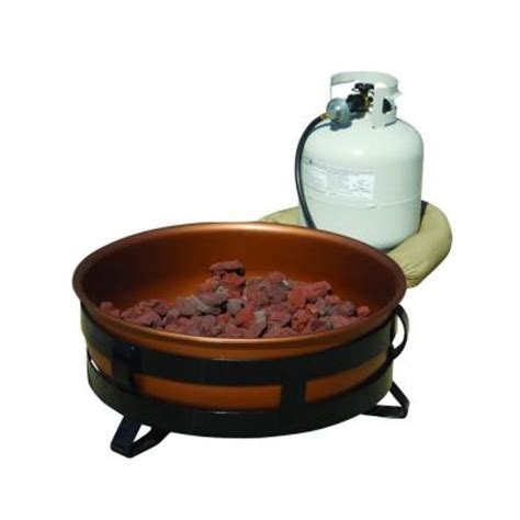 gas pit bowl king kooker 24 in portable propane gas pit with