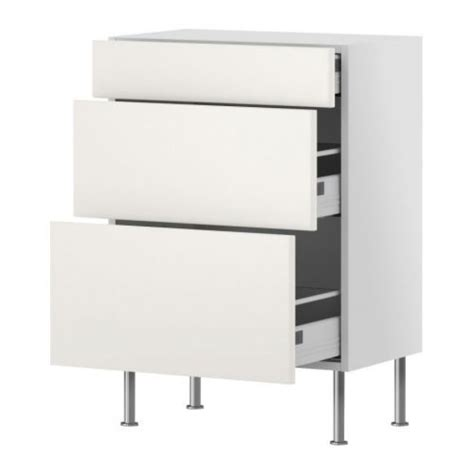 12 depth base cabinets akurum 12 inch depth base cabinet with 3 drawers white
