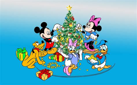 mickey  minnie mouse donald duck  pluto decorating