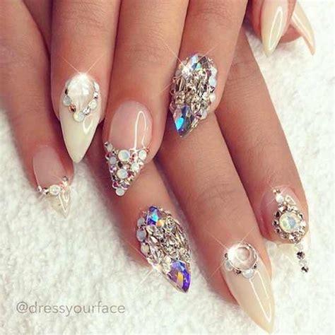 otras imagenes de uñas decoradas 27 hermosas u 241 as decoradas con pedrer 237 a mejores u 241 as