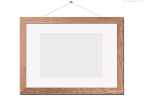 frame templates wooden photo frame template psd psdgraphics