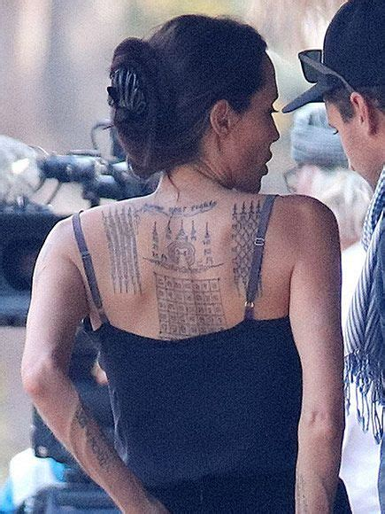 angelina jolie binary tattoo pinterest the world s catalog of ideas