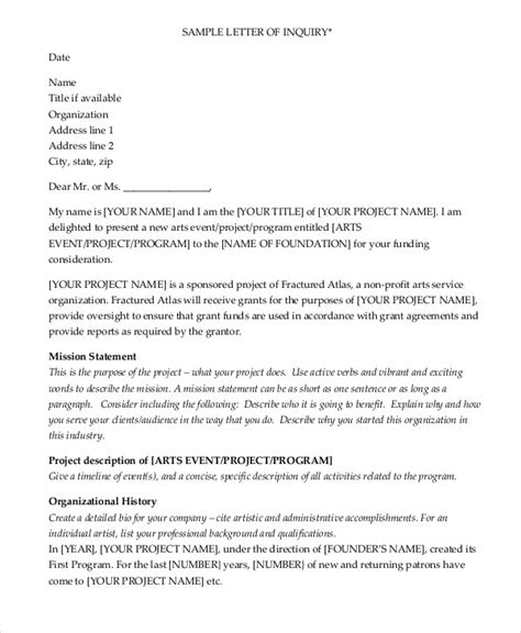 Rejection Letter For Grant Sle Grant Letter 9 Exles In Word Pdf