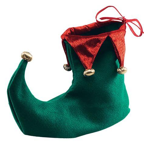 christmas green mens dress shoes santa s green jester boots shoes fancy dress costume ebay