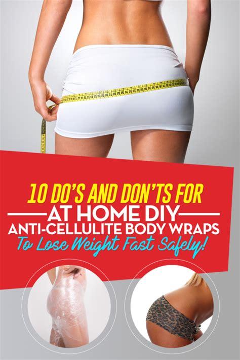 Cellulite Detox Wrap by Diy Cellulite Leg Wrap Diy Do It Your Self