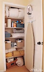 linen closet makeover tidbits amp twine