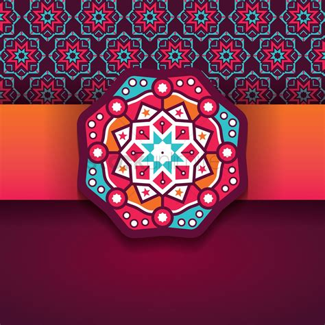 design image islamic background design vector image 1990061