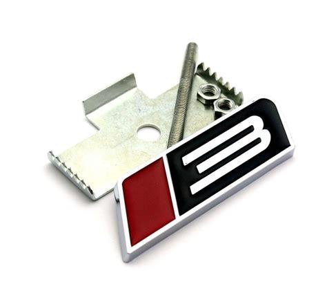 Emblem Grill roush 3 car front grill grille emblem for roush metal chrome badge sticker ebay