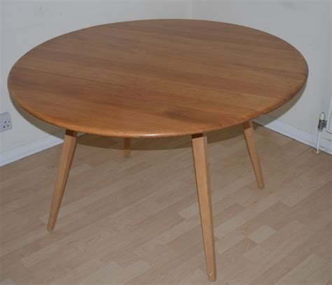 Ercol Kitchen Table Ercol Elm Beech 384 Light Finish Drop Leaf Kitchen Dining Table Sold Retro