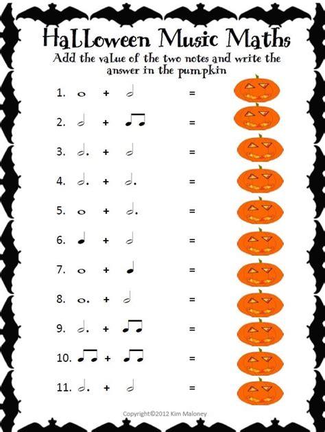 HALLOWEEN Music Math