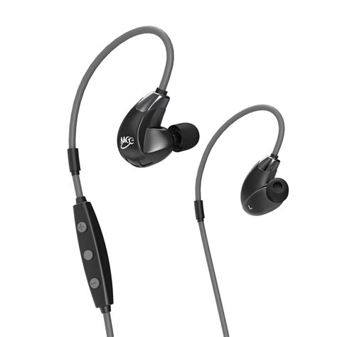 meelectronics sport fi x7 stereo bluetooth wireless sports in ear hd headphones with memory wire