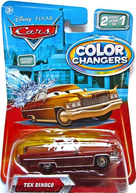 color changer world of cars pr 233 sentation du personnage tex dinoco