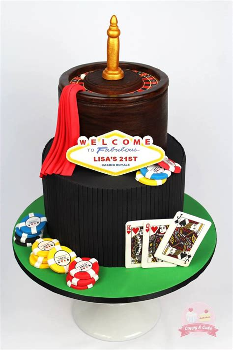 vegas themed cake decorations a 21st casino royale themed birthday cake the plaque was