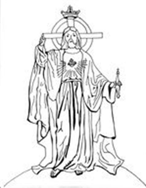 coloring pages christ the king 1000 images about liturgical year october on pinterest