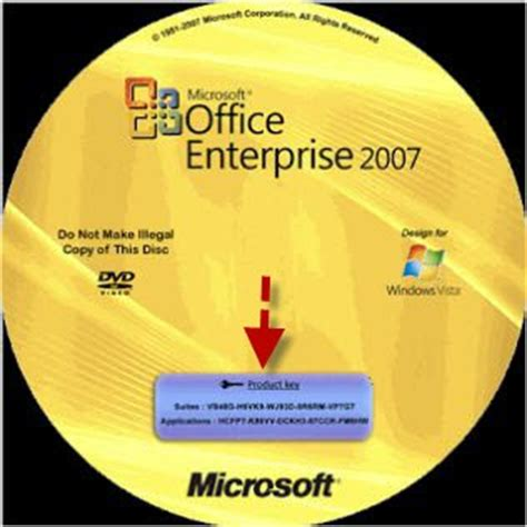 Cd Microsoft Office 2007 Original how to find office 2007 product key fast on windows