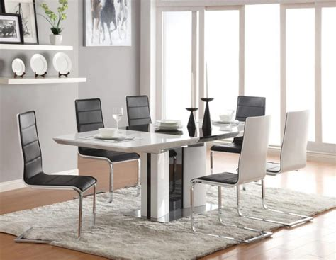 Lighten Up Dinner Time With These 15 White Dining Room Tables Modern White Dining Table