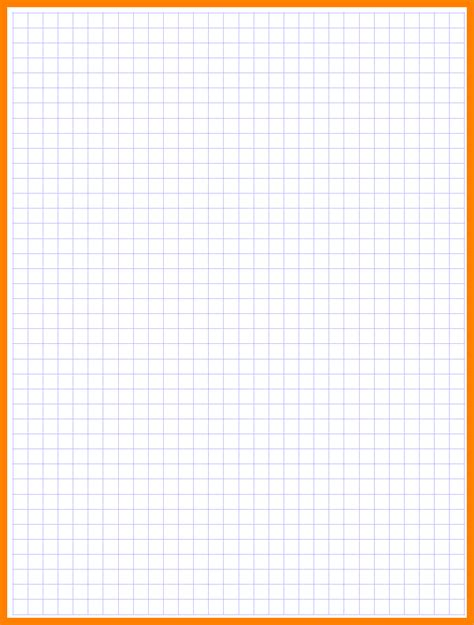 How To Make Grid Paper - graph paper printable template pdf