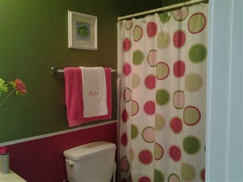 pink green bathroom pink and green girl s bathroom contemporary bathroom