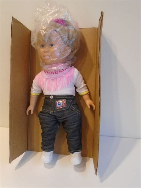 full house doll full house michelle doll 15 inches 1991 vintage full house michelle vintage and dolls