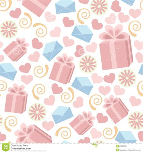 gift pattern background seamless gift pattern stock illustration image of sweet