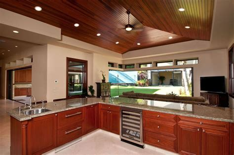 cherry cabinets with granite 25 cherry wood kitchens cabinet designs ideas