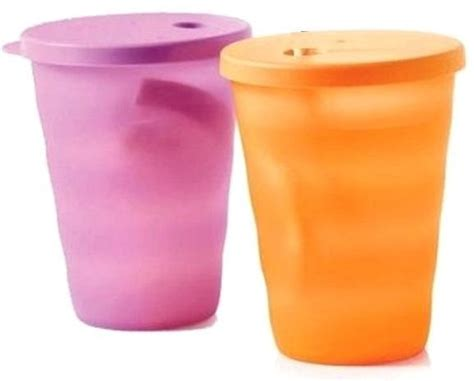 Expression Tumbler Tupperware souq tupperware expressions straw tumbler set 2 pieces