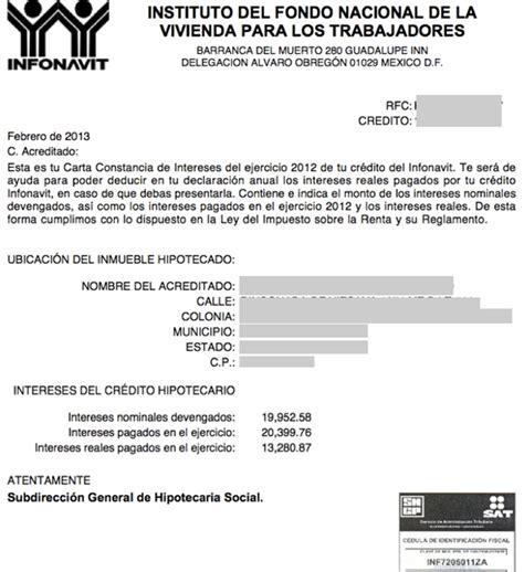 constancia de impuestos de infonavit 2015 constancia de impuestos de infonavit 2015