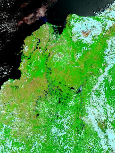 imagenes satelitales falso color compuesto mapa de inundaciones en colombia falso color mapa owje com