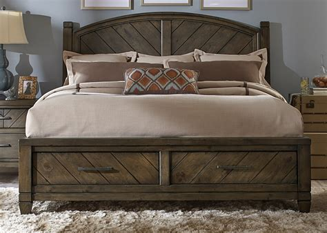 country beds modern country bedroom set with solid spruce pine wood and smokey pewter finish