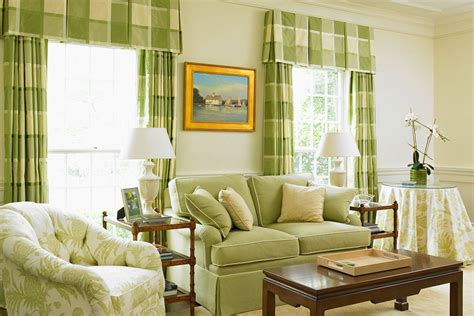 light green sofa living room impressive plaid curtains trend new york traditional