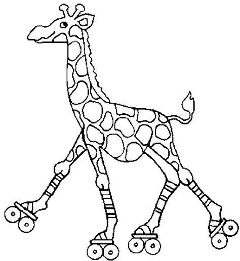 imagenes jirafas colorear dibujos para colorear jirafa