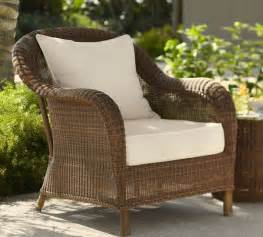 Armchairs Brisbane Pottery Barn Honey Wicker Chair Garden Amp Outdoor
